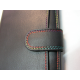 """Porte monnaie en cuir foulonné multicolor """"Francinel"""""""