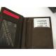 """Petit portefeuille en cuir noir """"Arthur&Aston"""""""