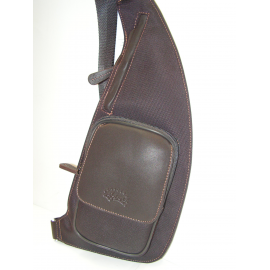 "Holster en synthétique garni marron""Francinel"""