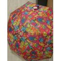 Parapluie canne imprimé tableau
