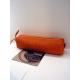"Trousse en cuir orange""Jean Louis Foures"""