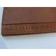 """Portefeuille en cuir marron""""Arthur&Aston"""""""