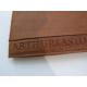 """Petit portefeuille en cuir chataigne """"Arthur&Aston"""""""