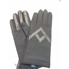 "Gant marron ""Glove Story"""